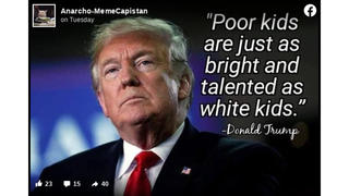 Fact Check: Donald Trump Did NOT Say, 'Poor Kids Are Just As Bright And Talented As White Kids'