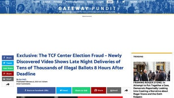 Fact Check: Newly Discovered Video Does NOT Show Late-Night Deliveries Of Illegal Ballots In Detroit, Michigan