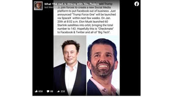 Fact Check: Elon Musk And Donald Trump Jr. Did NOT Announce 'Trump Force One,' A New Social Media Platform