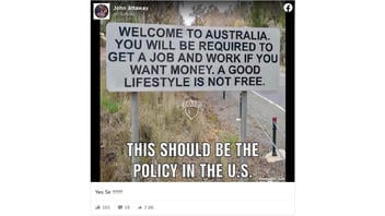 Fact Check: Roadside Sign Featured In Meme Is NOT A Real 'Welcome To Australia' Sign