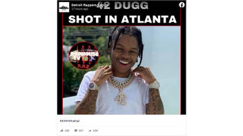 Fact Check: Rapper 42 Dugg Was NOT Shot In Atlanta Incident On Music Video Set