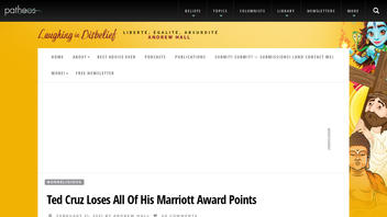 Fact Check: Ted Cruz Did NOT Lose All His Marriott Points