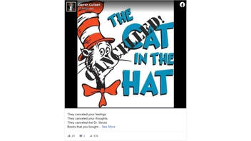 Fact Check: Dr. Seuss Enterprises Did NOT Cancel 'The Cat In The Hat' When It Withdrew Six Titles From Publication