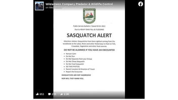 Fact Check: The Kentucky Department Of Fish And Wildlife Resources Did NOT Issue A 'Sasquatch Alert'