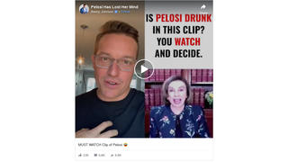 Fact Check: Video Does NOT Prove Nancy Pelosi Was Drunk When She Told A Story About A 'Magic Word -- Open Biden'