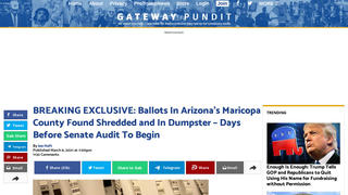 Fact Check: Ballots From The 2020 Election Were NOT Found Shredded And Trashed In Maricopa County, Arizona