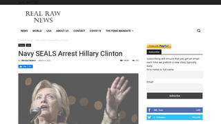 Fact Check: Navy SEALs Did NOT Arrest Hillary Clinton