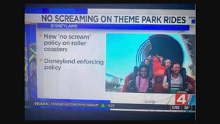 Fact Check: Disneyland Did NOT Announce A 'No Screaming On Theme Park Rides' Policy