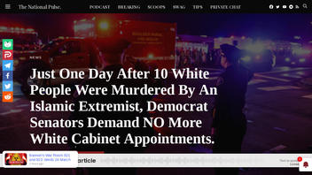 Fact Check: NO Evidence Colorado Suspect Is 'Islamic Extremist' -- Senators Did NOT Demand 'Anti-White' Ban On Cabinet
