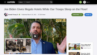 Fact Check: National Guard Troops Guarding The Capitol Are NOT Forced To Sleep On The Floor - They Have Hotel Rooms