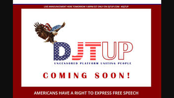 Fact Check: New Social Media Website DJTUP Does NOT Show Any Connections To Donald Trump