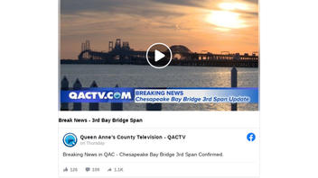 Fact Check: Third Bridge Spanning The Chesapeake Bay Is NOT In Planning Stages: It's April Fools'