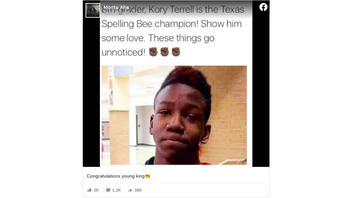 Fact Check: Kory Terrell Is NOT The Texas Spelling Bee Champion