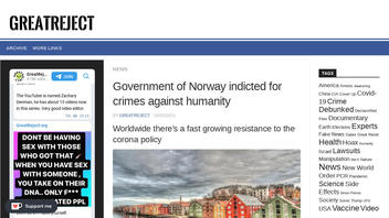 Fact Check: There is NO Indictment Against The Norwegian Government For Crimes Against Humanity