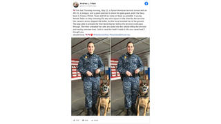 Fact Check: This K-9 Handler Did NOT Prevent Naval Air Station Terrorism Attack