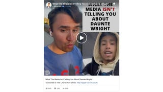 Fact Check: Daunte Wright Was NOT 'Wanted' For Aggravated Robbery, Was NOT 'On The Run Ever Since'