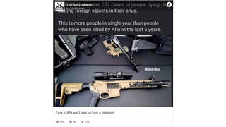 Fact Check: Deaths Caused By Foreign Objects in Rectum Did NOT Surpass 'AR' Rifle Deaths