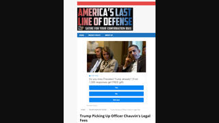Fact Check: Trump Did NOT Pick Up Officer Chauvin's Legal Fees