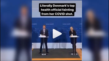 Fact Check: NO Evidence Danish Official Fainted Because Of COVID Vaccine