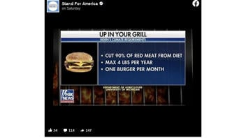 Fact Check: Biden Is NOT Cutting 90% Of Red Meat From Your Diet, NOT Limiting You To One Burger Per Month