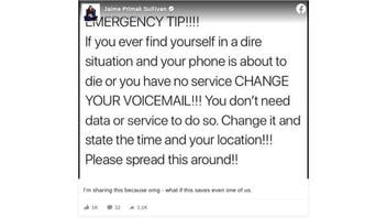 Fact Check: You Can NOT Update Voicemail In An Emergency With No Phone Service
