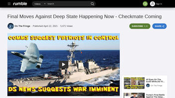 Fact Check: 'Final Moves Against Deep State' Claims NOT Proved By Video