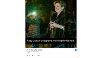 Fact Check: This Is NOT A Picture Of Rudy Giuliani's Neighbors Watching FBI Raid His Apartment