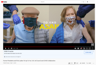 Fact Check: Carters and Bidens Were NOT Breaking Indoor Mask-Wearing Guidelines In Photo