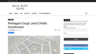 Fact Check: NO Evidence Of Pentagon Coup -- The Joint Chiefs Of Staff Were NOT Overthrown