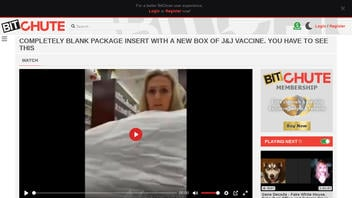 Fact Check: Video Of Blank Product Insert Inside J&J Vaccine Box Does NOT Show Anything Unexpected Or Untoward