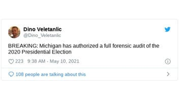Fact Check: Michigan Has NOT Authorized A Full Forensic Audit Of The 2020 Presidential Election