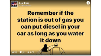 Fact Check: If The Gas Station Is Out Of Gas You Can NOT Put Diesel In Your Car As Long As You Water It Down
