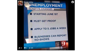 Fact Check: Job Search Requirement Is NOT YET Reinstated for Every State's Unemployment Benefits