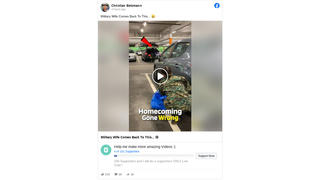 Fact Check: Car Trunk Surprise Military Homecoming Video Is NOT Real -- It's A Skit
