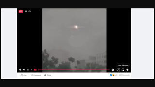 Fact Check: Video Does NOT Show Real Creature With Glowing Eyes In The Sky