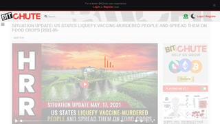 Fact Check: U.S. States Are NOT Liquefying 'Vaccine-Murdered People,' Spreading Them On Food Crops
