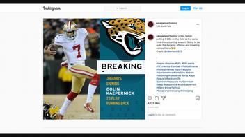 Fact Check: Jacksonville Jaguars Did NOT Sign Colin Kaepernick