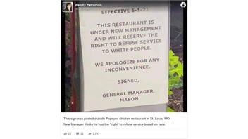Fact Check: Local Popeyes Did NOT Post a Sign Saying They 'Reserve The Right To Refuse Service To White People'