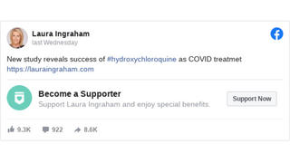 Fact Check: Draft Research About Hydroxychloroquine As COVID-19 Drug Does NOT Yet Warrant Calling It A Cure