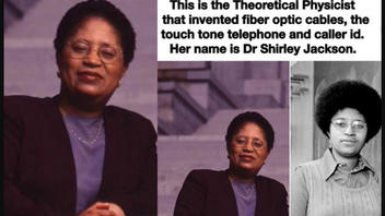 Fact Check: Physicist Shirley Jackson Did NOT Invent Fiber-Optic Cables, Touch-Tone Phone Or Caller ID