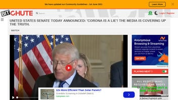 Fact Check: Promotional Captions For This Video Do NOT Accurately Describe U.S. Senate Action, Nor Senators' Words