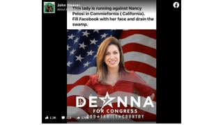 Fact Check: DeAnna Lorraine DID Run Against Nancy Pelosi In California In March 2020 Primary (But Lost)