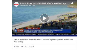 Fact Check: Viral Facebook Video Does NOT Provide Any Information About The Crimes Alleged In Its Headline