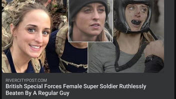 Fact Check: Woman Who Boxed Was NOT A British Special Forces Female Super Soldier