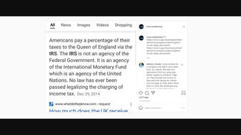 Fact Check: U.S. Citizens Do NOT Pay A Percentage Of Their Taxes To The Queen Of England