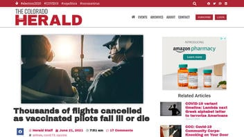 Fact Check: NO Evidence To Back Claim That 'Thousands Of Flights Canceled As Vaccinated Pilots Fall Ill Or Die'