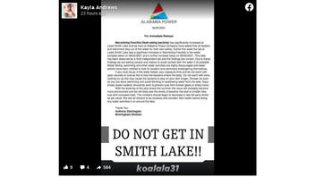 Fact Check: Alabama Power Company Did NOT Issue a Press Release Advising People To Stay Out Of Lewis Smith Lake