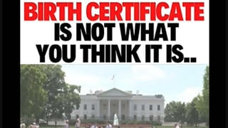 Fact Check: Birth Certificate Does NOT Create A Fictitious Legal Entity 'Straw Man' Owned By The State