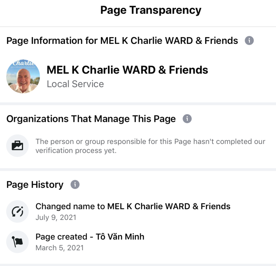 Milley FB Transparency page.png