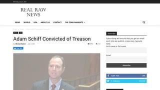 Fact Check: Adam Schiff Was NOT Convicted of Treason